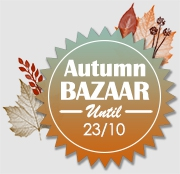 Autumn Bazaar up to -40% off